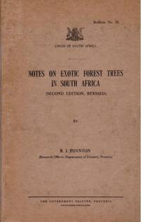 image of Notes on EXOTIC FOREST TREES IN SOUTH AFRICA