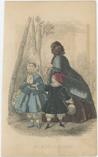 Les Modes Parisiennes [TWO HANDCOLORED FASHION PRINTS FEATURING CHILDREN'S FASHIONS].