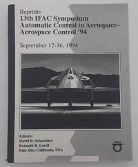 13th IFAC Symposium: Automatic Control in Aerospace - Aerospace Control 1994.