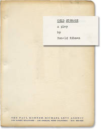 image of Cold Storage (Original script for the 1977 Broadway play)