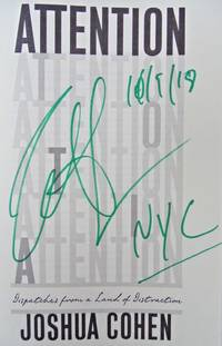 ATTENTION (SIGNED, DATED, & NYC)