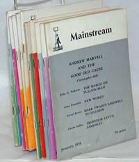 Mainstream, Vol. 12, no. 1, January, 1959 to vol. 12, no. 12, December, 1959