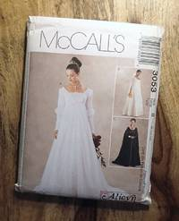 image of McCALL'S SEWING PATTERN: #3053: McCALL'S ALICYN EXCLUSIVES: Renaissance Bridal Gown and Bridesmaids Dress: Size B: 8-10-12