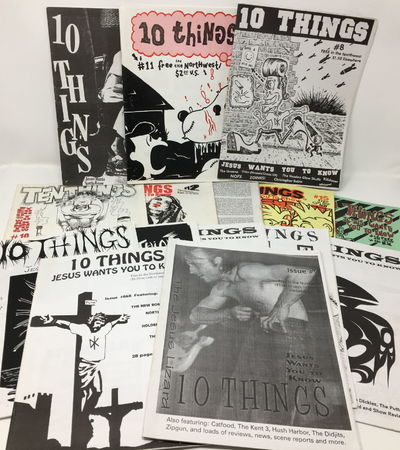 Issues 1 through 12 (1991-1995), an issue missing its cover (either no. 13 or 14), and issues 15 (19...