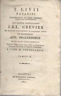 T. Livii patavini historiarum ab urbe condita Tomo II