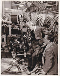 image of Original photograph of Alexander Korda behind the camera, circa 1950
