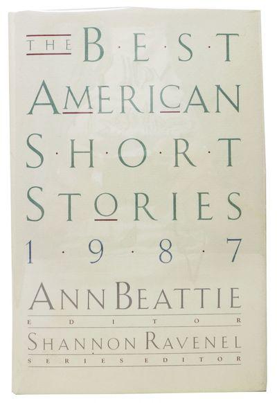 Boston: Houghton Mifflin, 1987. 1st edition. Linen cloth. Dust jacket. NF/NF. 334 pp. 8vo.