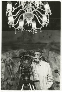 image of An Enemy of the People [Ganashatru] (Original photograph of Satyajit Ray from the set of the 1990 film)