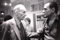 image of Original photograph of William Burroughs and John Giorno, 1981
