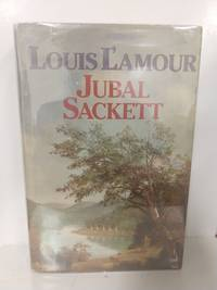 Jubal Sackett (LARGE PRINT) by Louis L'Amour - Book Club Edition - 1985 - from Fleur Fine Books and Biblio.com