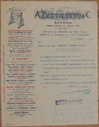 A. BERTOLOTTO & C. SAVONA 7 MAGGIO 1925