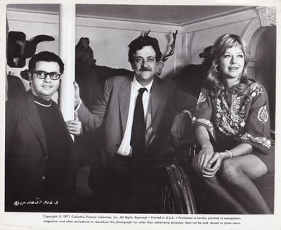 Culver City, CA: Columbia Pictures, 1971. Two vintage borderless reference photographs of author-pla...