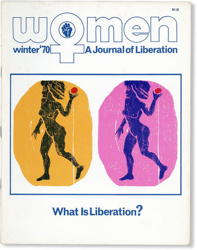 Baltimore: Women: A Journal of Liberation, Inc, 1970. First Edition. Paperback. Early issue of this ...