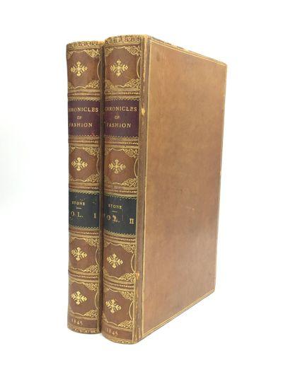 London: Richard Bentley, 1845. First Edition. Hardcover. Very good. A social history of English fash...