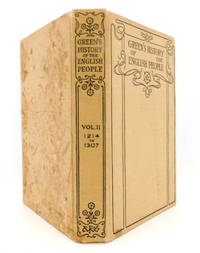 image of Green's History of The English People Volume II