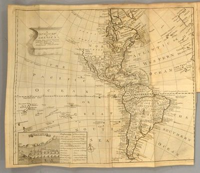 1762. AN ACCOUNT OF THE SPANISH SETTLEMENTS IN AMERICA. Edinburgh: Printed by A. Donaldson and J. Re...
