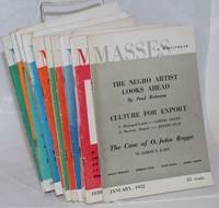 Masses & Mainstream, vol. 5, no. 1, January 1952 to vol. 5, no. 12, December 1952