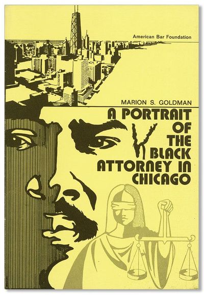 Chicago: American Bar Foundation, 1972. First Edition. Octavo. Pictorial card wrappers; 62pp. Faint ...
