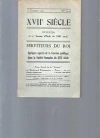 "XVIIè siècle.  Bulletin de la ""Société d'étude du..."