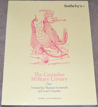 The Cottesloe Military Library. Formed by Thomas Fremantle, 3rd Lord Cottesloe. London, 19 November 2019. Sale #L19418