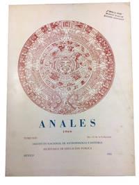Anales de Instituto Nacional de Antropologia e Historia, Tomo XIII, No. 42 de la Coleccion (1960)