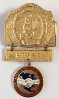 image of [Press badge for the AFL-CIO 1975 convention]