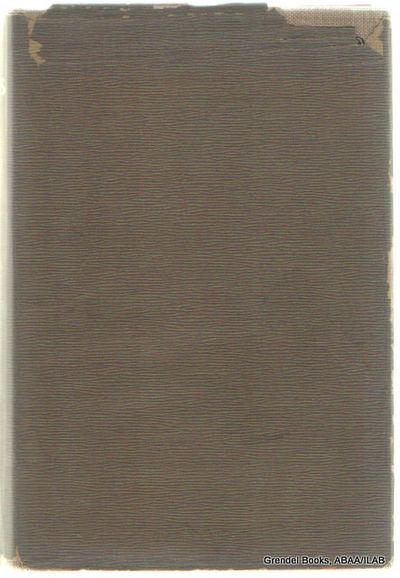 Boston:: Joseph Knight Company,. Very Good in Good dust jacket. 1895. Hardcover. Volume I only. Illu...