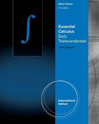 image of Essential Calculus: Early Transcendentals, International Metric Edition