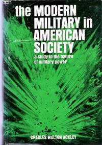 The Modern Military In American Society
