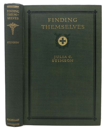 New York: The Macmillan Company, 1918. 1st Edition. Original publisher's green cloth binding with bl...