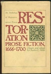 RESTORATION PROSE FICTION, 1666-1700 An Anthology of Representative Pieces