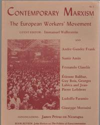 Contemporary Marxism (No. 2, Winter 1980) : the European Workers' Movement