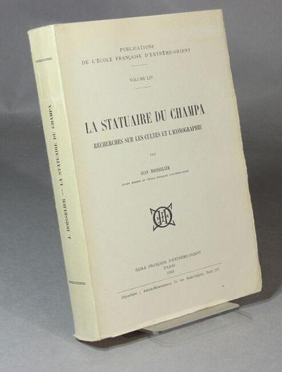 Paris: Ecole Francaise d'Extreme-Orient, 1963. First edition, large 8vo, pp. , xi, , 468, , 4 foldin...