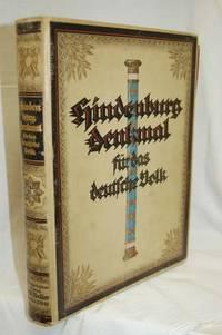 Hindenberg Denkmal Fuer Das Deutsche Volk;  Eine Ehrengabe Zum 75 Geburtstage Des Generalfeldmarschalls