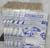image of Aeronautics: an authoritative work dealing with the theory and practice of flying [50 issue broken run 1940-1941]