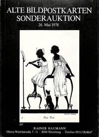 Sonderauktion 26 Mai 1978: Alte Bildpostkarten.