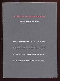 Chapel Hill: Algonquin, 1997. Softcover. Fine. Advance Reading Copy. Slight rubbing at one edge of t...