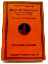 Days Of Democracy Britain In Europe 1789- Present Day
