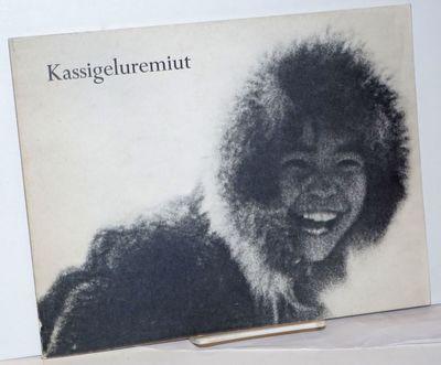 College, AK: Alaska Rural School Project, University of Alaska, 1970. Paperback. Unpaginated, about ...