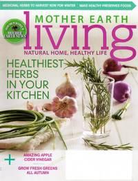 Mother Earth Living Magazine September/October 2015
