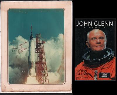 John Glenn: A Memoir (with signed photo)
