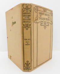 image of Green's History of The English People Volume  VII