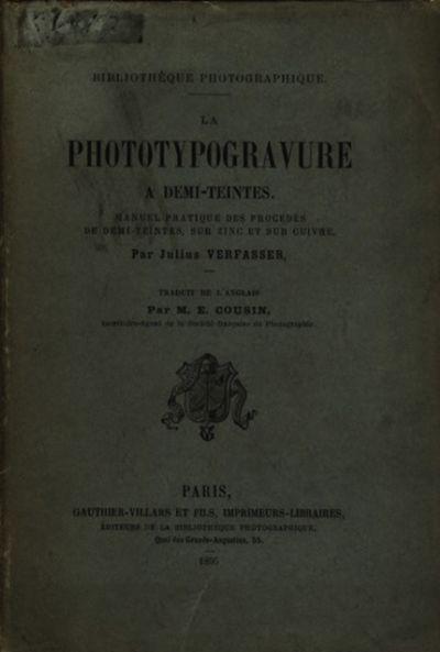Paris: Gauthier-Villars et Fils, 1895. First French edition. Paperback. Small 8vo., vi, 100 pp., 12 ...