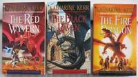 """Deverry: The Dragon Mage series:  book (1) one """"The Red Wyvern"""", book (2) two """"The Black Raven"""", book (3) three """"The Fire Dragon""""  --the complete 3 volume """"Deverry: The Dragon Mage"""" trilogy"""