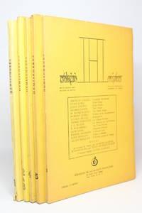 Hémisphères. Revue franco-américaine de poésie. Collection complète du N°1 au N°6