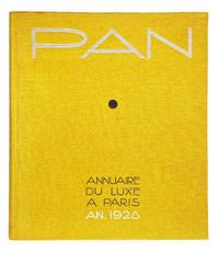 PAN. ANNUAIRE DU LUXE A PARIS. AN 1928