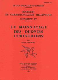 Le monnayage des duovirs corinthiens