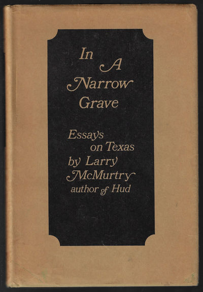 Austin: Encino Press, 1968. Hardcover. Near fine/very good. First edition, second state, in a first ...