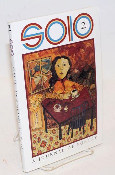 Carpinteria CA and North Wilkesboro NC: Solo Press, 1998. Paperback. vii, 115p., glossy 9x6 inch pap...