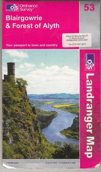 Blairgowrie and Forest of Alyth (Landranger Maps Sheet 53)